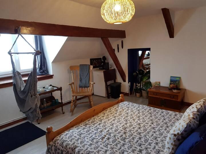 """Gîte du Lautaret : 1 room for 2 """"Voyage Voyage"""""""