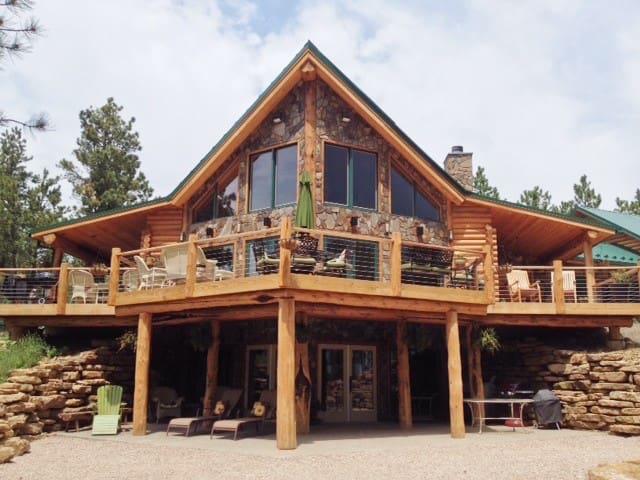 Gorgeous Log Home on 40 acres