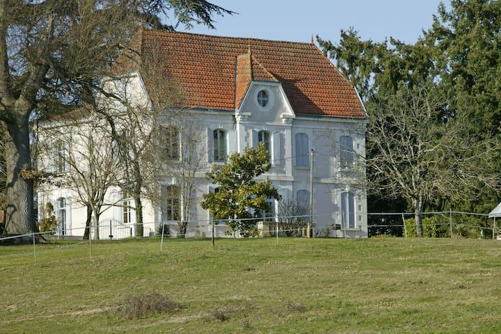 Manor House near Bergerac. sleeps 12 - Bergerac