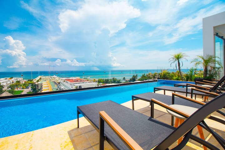 Ocean Views From Your Balcony!  Best Location!