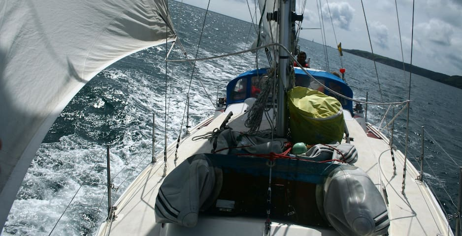 Welcome aboard  33 ft sailing yacht