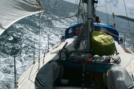 Welcome aboard  33 ft sailing yacht - Falmouth