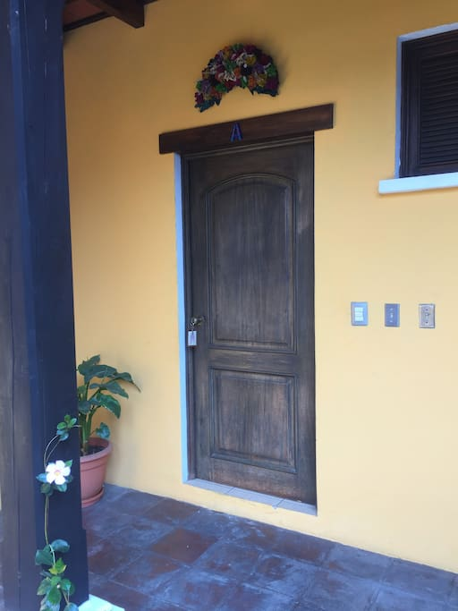 Door to Apartment A