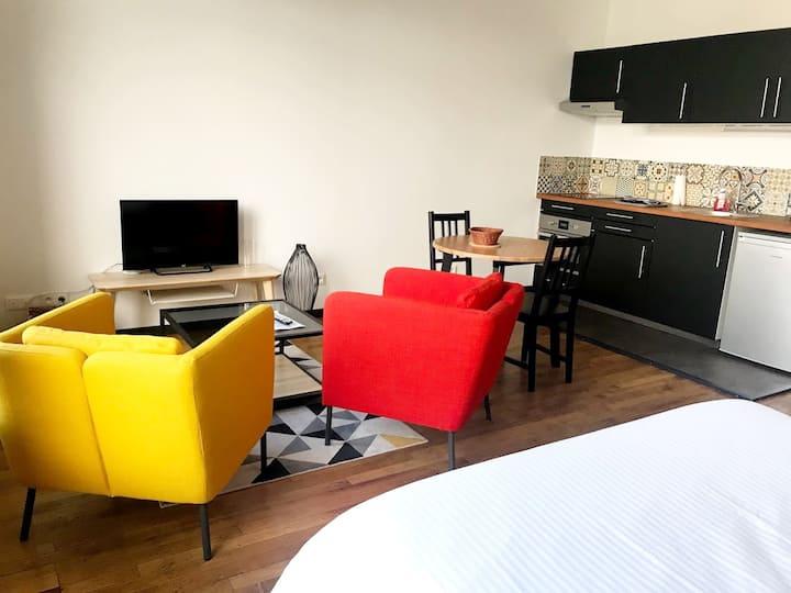 3. Appartement en hypercentre, lumineux et neuf