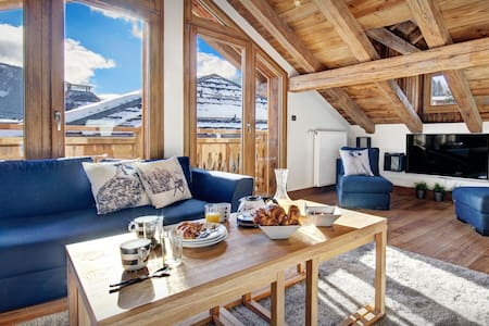 MY HOME IN THE ALPS - Morzine apartment, sauna and jacuzzi, near pistes - Apartment