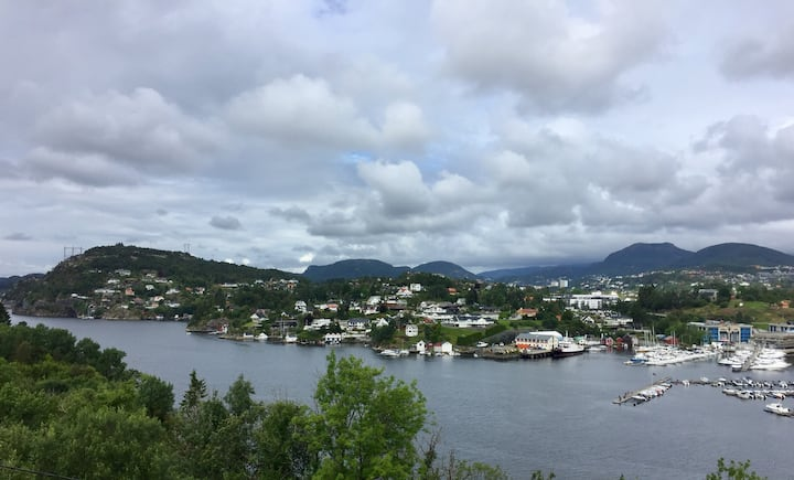 Great view close to Bergen airport