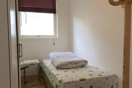 Private room downtown + free parking - Alesund