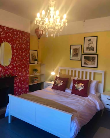 Chinese King size bedroom on the second floor