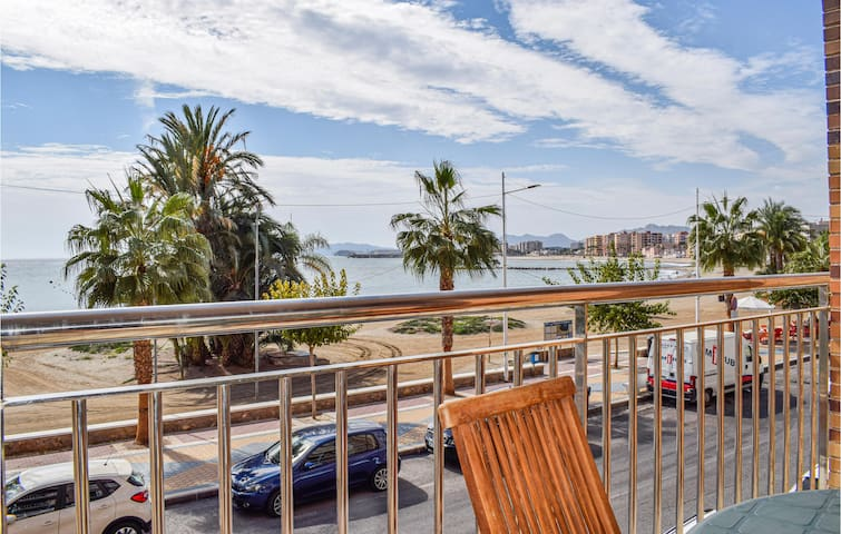 Holiday apartment with 4 bedrooms on 146m² in Águilas