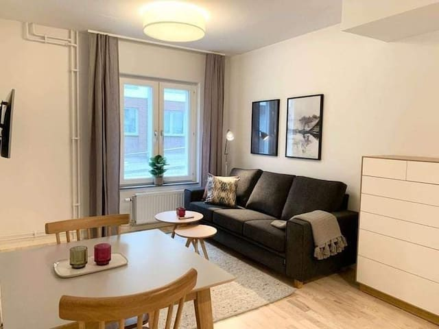 Bright one bedroom apartament
