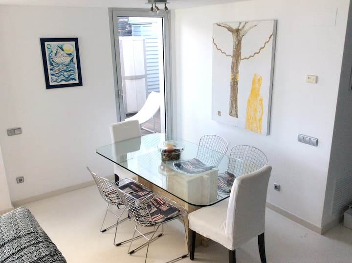 House with 3 bedrooms in Sant Pere de Ribes, with wonderful sea view, shared pool, enclosed garden