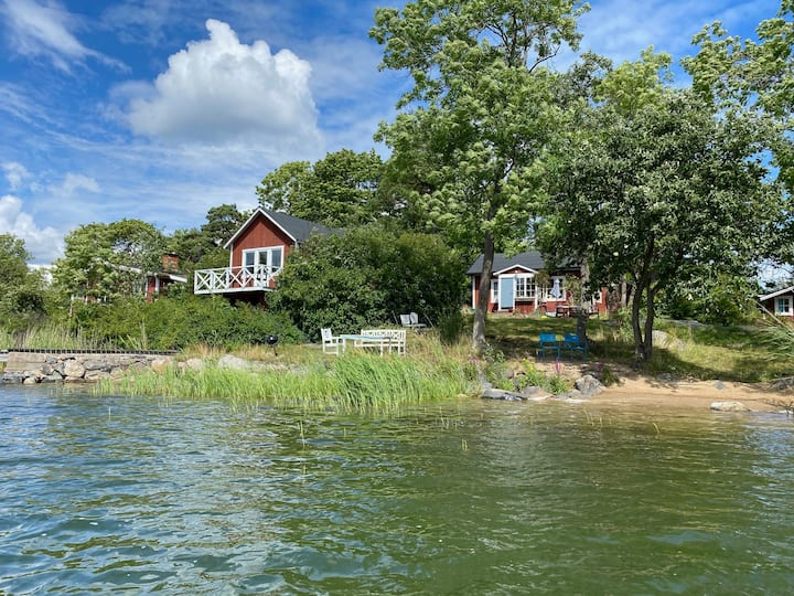 Cottage in Stockholm's breathtaking archipelago