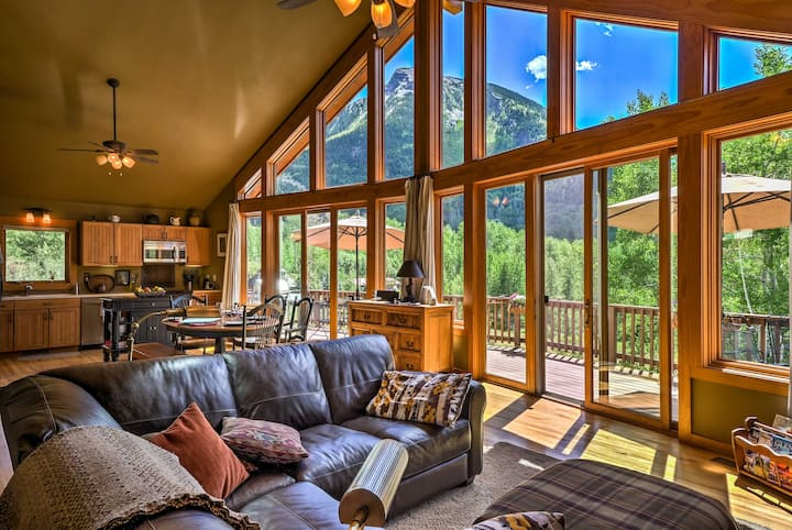 Peaceful Marble Colorado Home w/ Mtn Views!