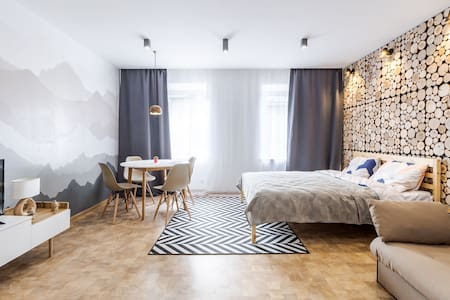 Stylish scandinavian flat in the heart of Lviv