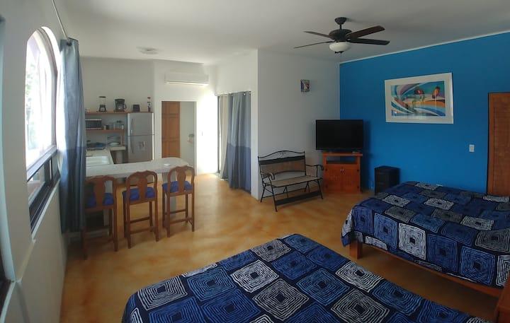 Nice rooms 2!  Best location in Papalote Inn!