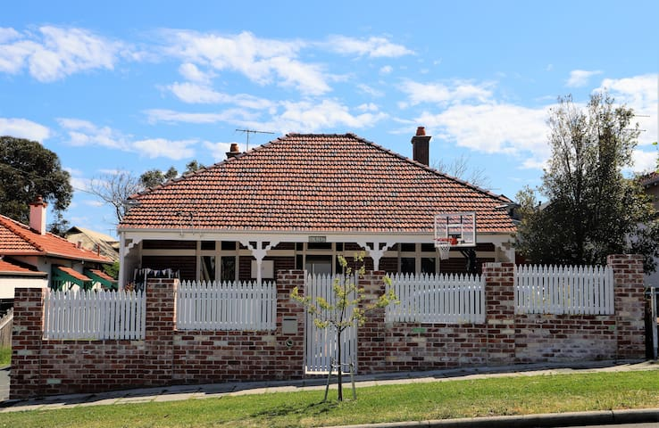 Tuckpointed Fremantle cottage