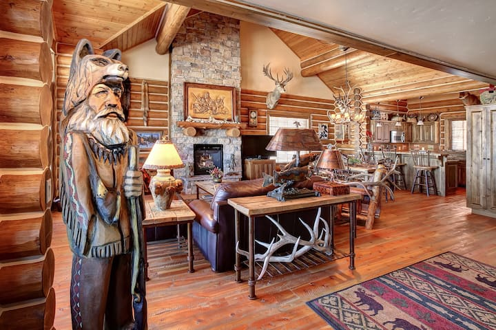Mountain Man Cabin at Teton Springs Lodge & Spa