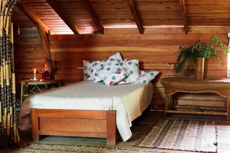Open Bedroom, Casa Sol y Montaña, Jardín. - Jardín - 宾馆