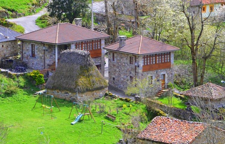Casa rural completa La Casa de Arriba (6 plazas)