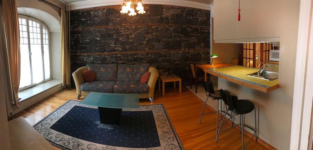 Appartement avec cachet dans le Vieux-Québec