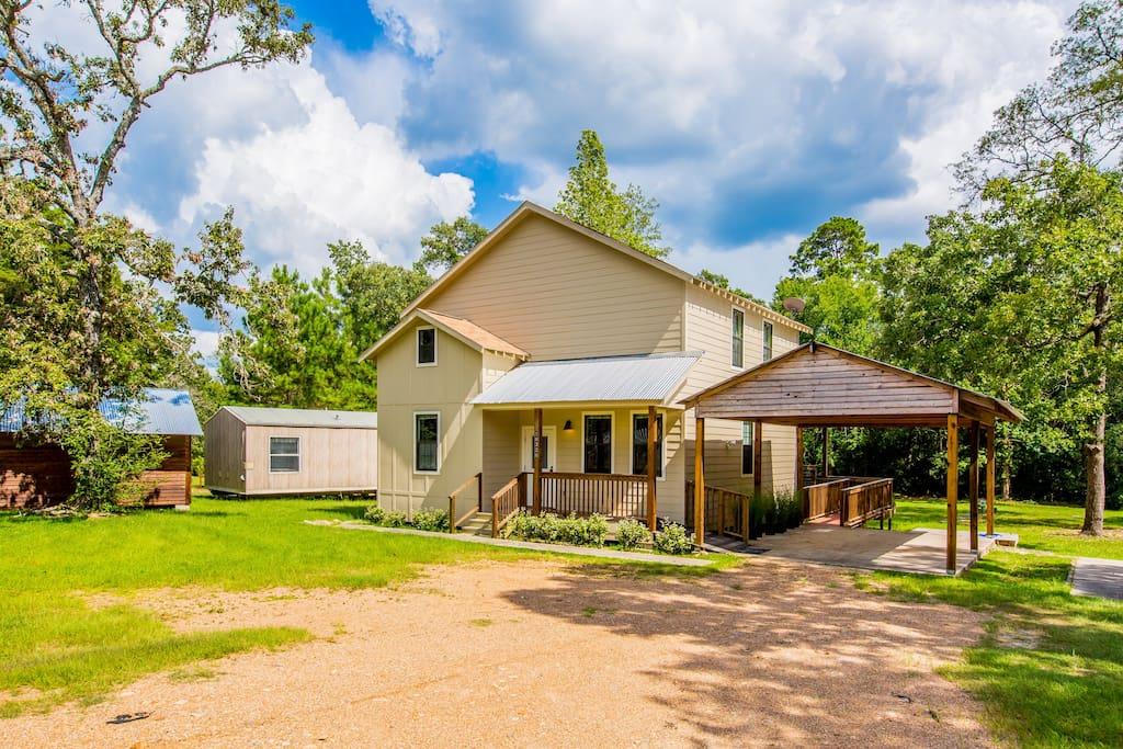 Buck Ridge Cottage Montgomery Lake Conroe Case In