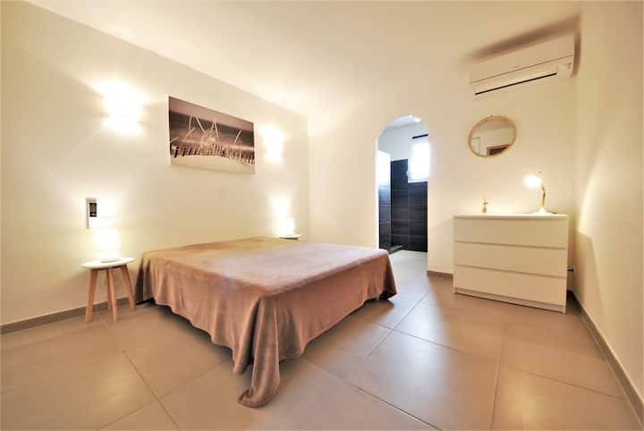 PISCINE CHAUFFEE Villa 8 couchages à Sta Giulia