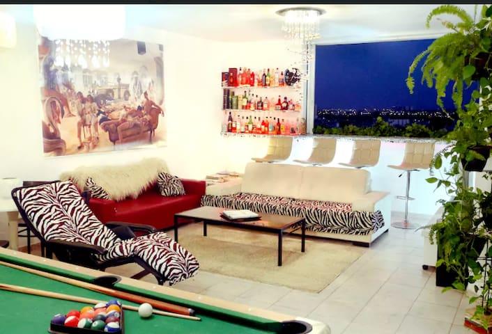 Tiny Room, Huge APT, Social, Design, City view