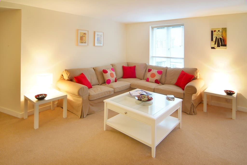 Enjoy the very bright and spacious lounge