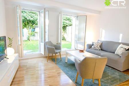 Apartamento con jardín a 30 metros de la catedral