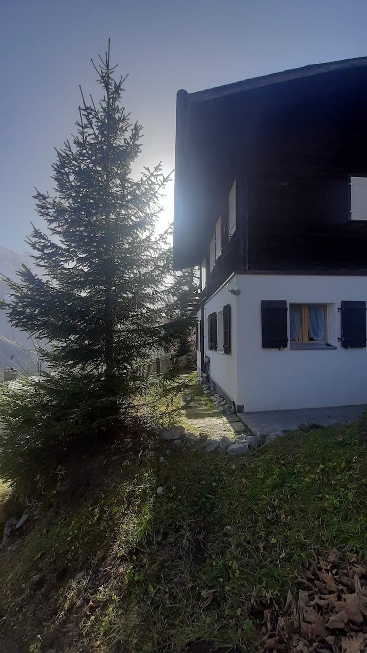 Chalet-Wohnung / Cozy Apartment with stunning view