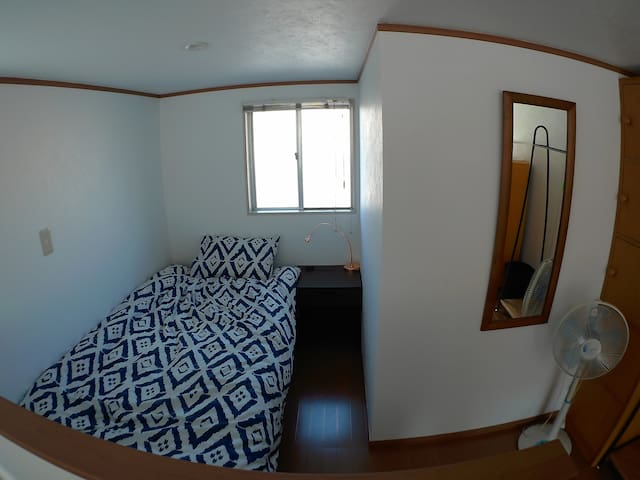 Haneda Homestay. Loft room