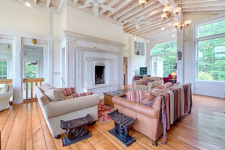 Amazing Architectural Post-and-Beam Masterpiece Mt. Snow - Hus