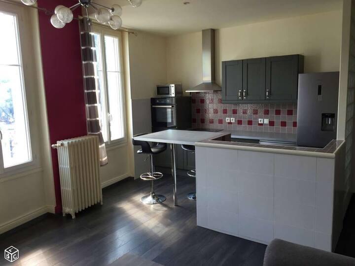 Appartement avec jolie vue - 10min centre Poitiers