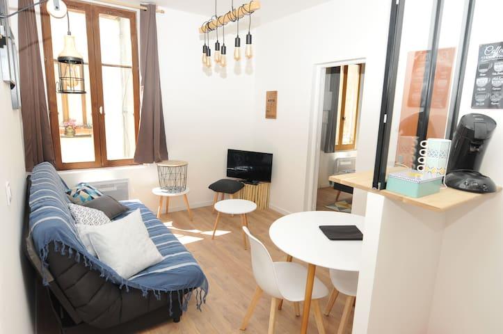 L'appartement de Léo 4 personnes centre Honfleur