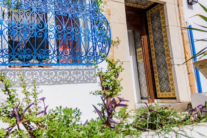 Maison en plein coeur de Sidi Bou Said