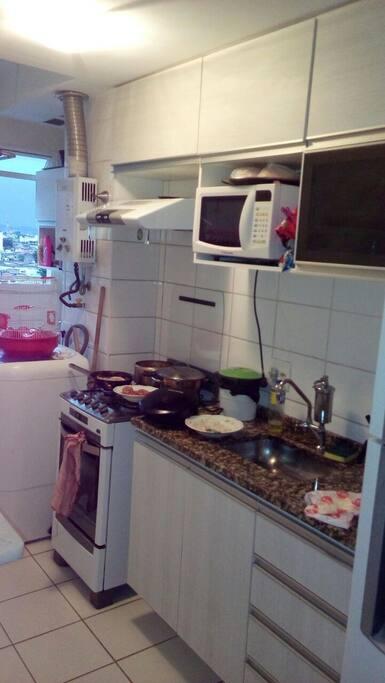 Cozinha , uso liberado