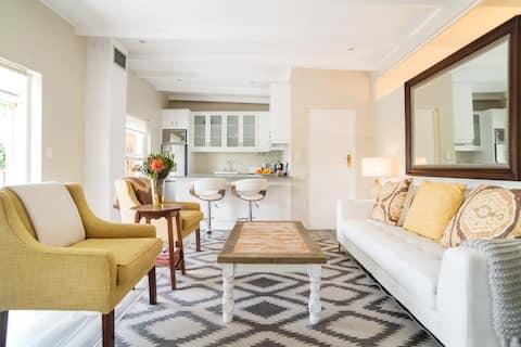 Luxe appartement met uitzicht op de Tafelberg