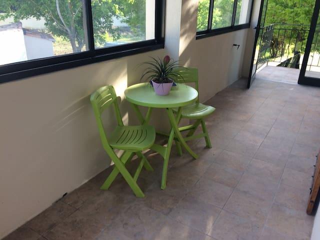 Très belle appartement avec jardin