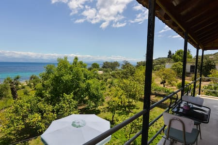 See Corfu Relaxing house with garden and sea view - Mpoukaris - Apartemen