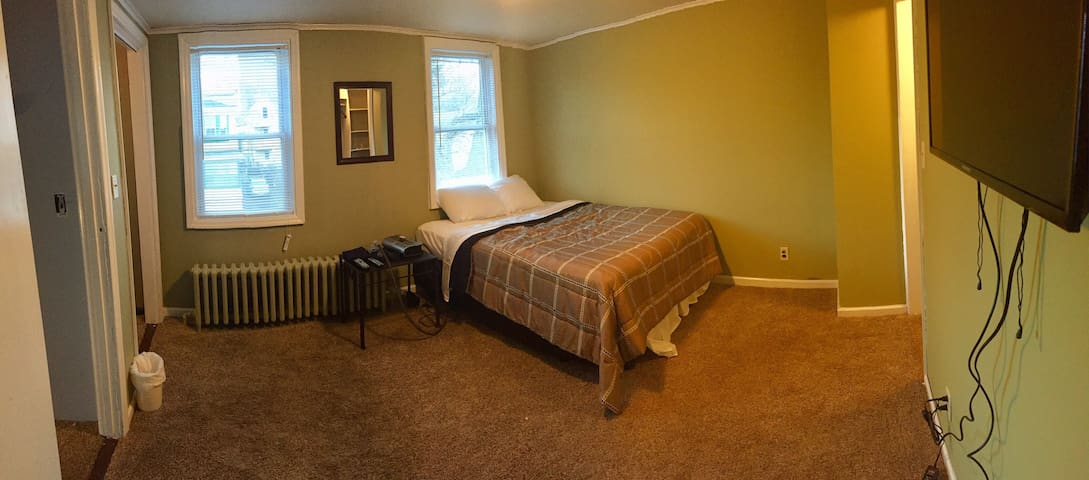 Cozy bedroom with (2) walk-in closets
