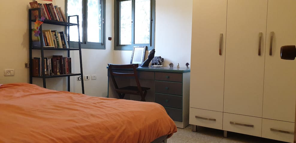 The Second bedroom. 120 cm width bed