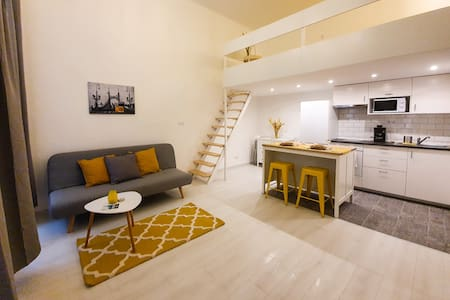 Luna's studios #1 - mini loft in the center