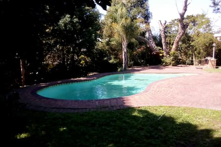 Amazing private garden with pool. - Westville