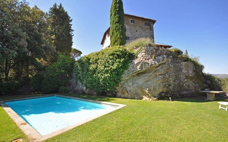 Villa Petra,with pool in Chianti