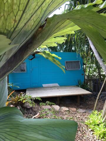Rosa Blue our vintage caravan - Peregian Beach - Cabane