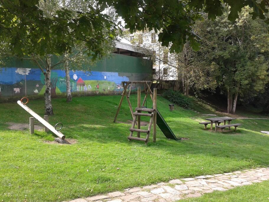 Parque infantil,Porrúa.