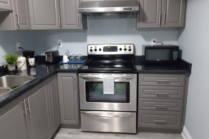 Entire basement suite near Hwy,TV WiFi and Parking