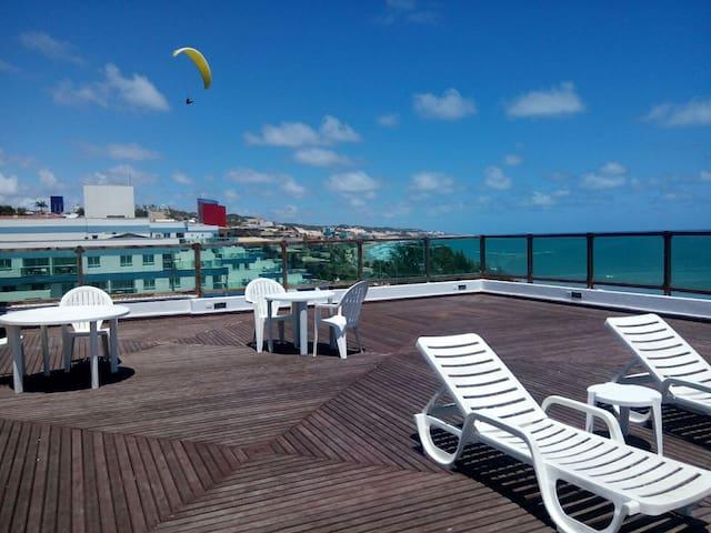Flat Ponta Negra vista para o mar - Natal - Leilighet