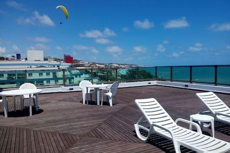 Flat Ponta Negra vista para o mar - Natal