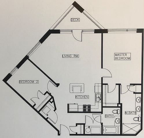 Accurate floor plan for this unit!